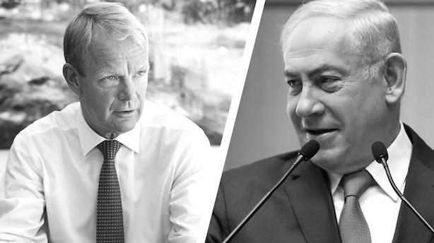 Netanyahu går direkte i kødet på Kåre Schultz