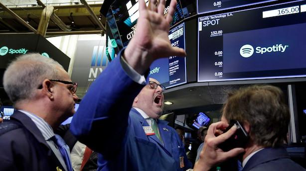 USA: Markedet balancerer mellem nervøsitet og eufori