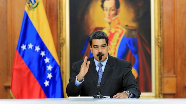 Kriseramte Venezuela søger økonomisk støtte fra Kina