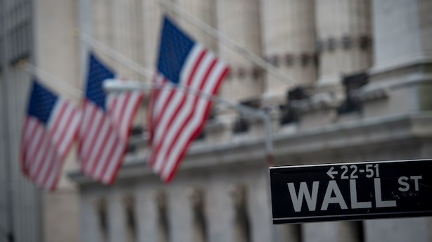 USA-aktier: To indeks lukkede i rødt - bankaktier blev hårdest ramt