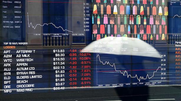 Aktier: Olieprisfald vejer tungt på aktierne i Asien