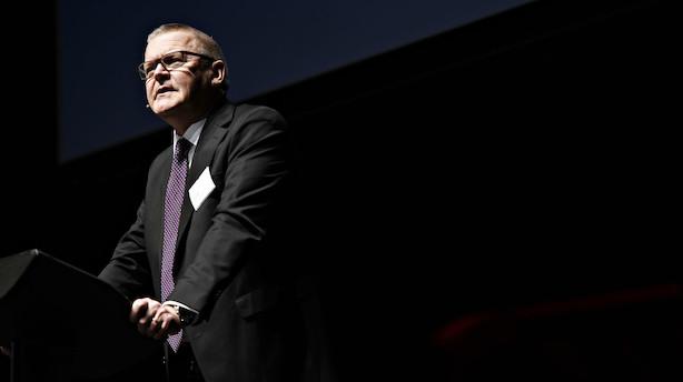 Nordea og Sydbank: Lars Rohde må snart bryde Nationalbankens historiske periode uden støtteopkøb
