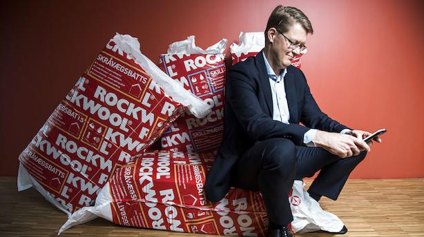Aktier i Europa: Rockwool i bund i roligt marked
