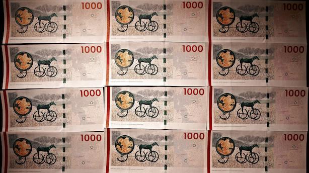 """Hver dansker over 18 år har i gennemsnit 191.000 kr stående i banken: """"Det er for mange penge at have stående på en lønkonto"""""""