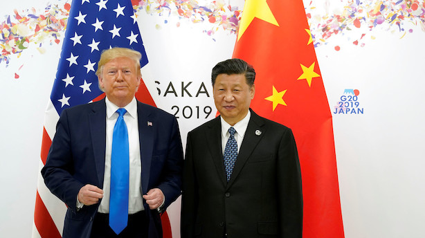 Amerikanske aktier i stor stigning efter positivt nyt i handelskrigen