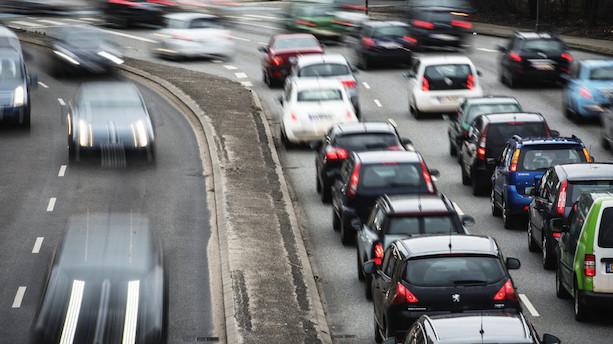 Forsker: Trængsel får trafikken til at bryde sammen dagligt