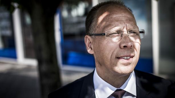 Frank Vang-Jensen vil ikke afvise minusrenter