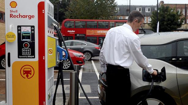 Væksten i salget af elbiler taber sit tempo