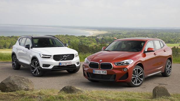Volvo XC40 vs BMW X2: Svensk design møder tysk effektivitet