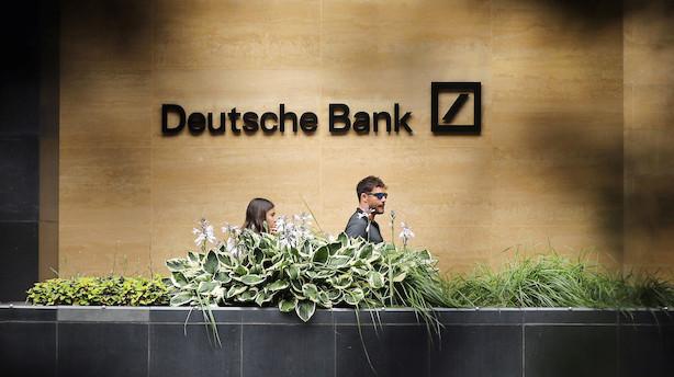 Medie: Myndigheder graver dybere i Deutsche Banks rolle i hvidvasksag