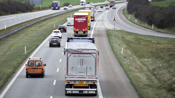 Transportbranchen glæder sig: S og Co kræver dansk løn til udenlandske chauffører