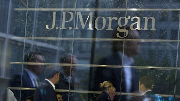 JPMorgan: Finansdirektør ser handelsindtægterne stige i fjerde kvartal
