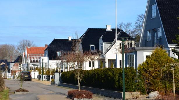 Færre boliger til salg