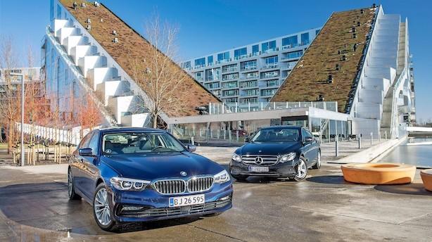 Tyske giganter kæmper om at være din næste firmabil