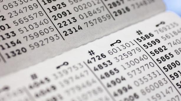 Banker vil tilbyde digitalt alternativ til NemID-papkort