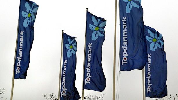 Banker hæver kursmål og anbefalinger af Topdanmark efter stærkt regnskab