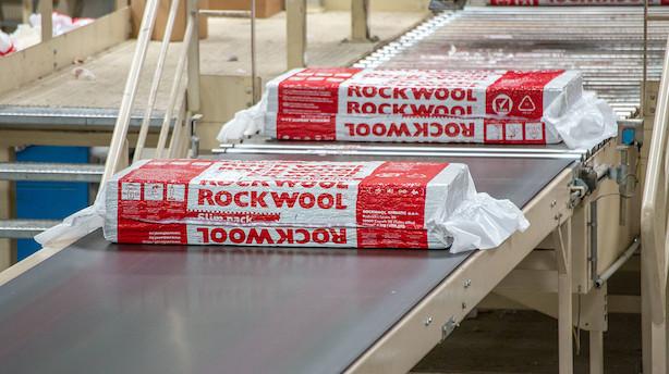 Rockwool vokser på toppen og markant på bunden i første kvartal
