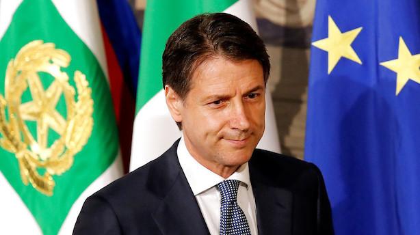 Moody's overvejer at sænke Italiens kreditvurdering