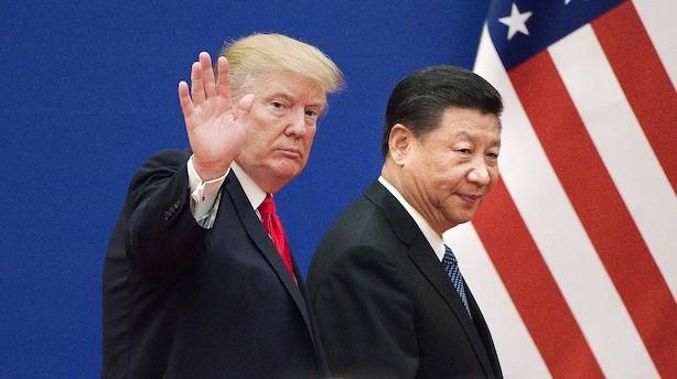 Advarsel fra finanshus: Handelskrig mellem USA og Kina kan ende i økonomisk koldkrig