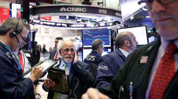 Aktier: Blandet mandag i USA - Apple skubber Nasdaq-indeks i minus