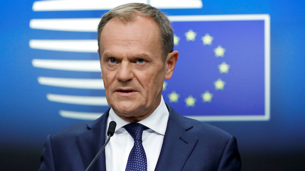 EU-præsident vil hellere have udskudt brexit end hårdt brud
