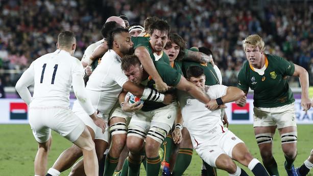 Sydafrika vinder VM i rugby for tredje gang