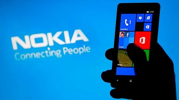 Nokia-aktien stormer frem efter Microsofthandel
