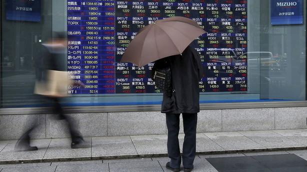 Aktier: Store fald i Asien efter skuffende Kina-tal