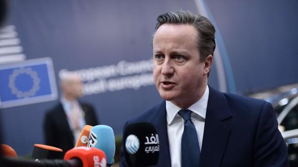 Nervekrig på topmøde i Bruxelles om Camerons EU-reform
