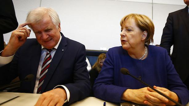 Analyse: Kan flygtninge splitte Merkels regeringshåb?