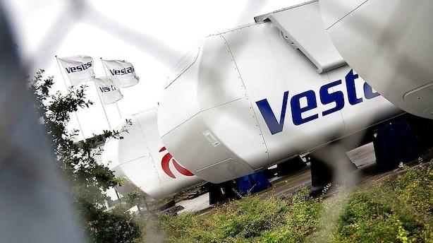 Sydbank: Derfor stiger Vestas-aktien i dag