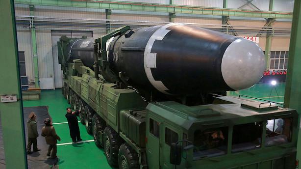 USA: Vi håber på nordkoreansk nedrustning i 2020