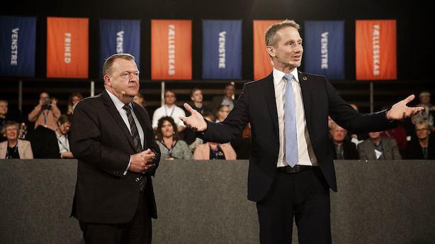 Løkke-regering er kun en tiendedel i mål med reformer