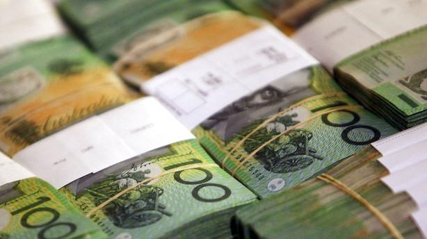 Valuta: Arbejdsløshedstal lægger pres på den australske dollar
