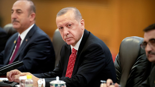 Tyrkisk lira svækkes efter præsidents magtdemonstration