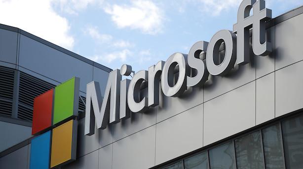 Aktieluk i USA: Nærmer sig rekord - Microsoft og Amazon trak op