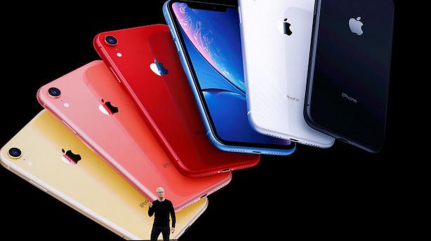 Apple leverer stærke tal for julekvartalet og solid salgsprognose