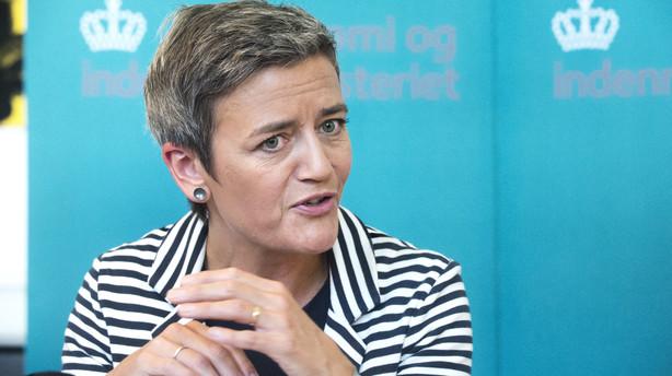 Margrethe Vestager bliver ny EU-kommissær