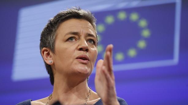 Vestager: Danske virksomheder går fri af stort skattesmæk