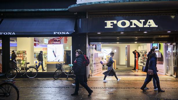 Mange andre butikker risikerer samme sk�bne som Fona