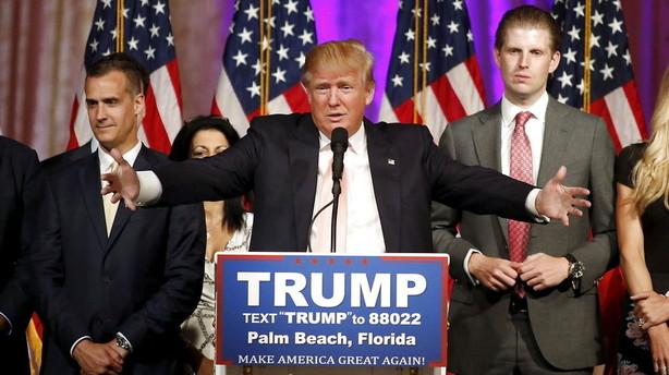 Trump triumferer igen - Rubio ude af præsidentræset