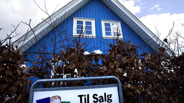 Huspriserne stiger alle steder undtagen Vestjylland