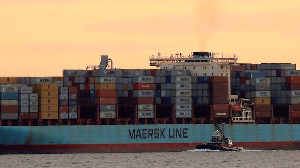 Mærsk: Containerrater falder marginalt mellem Asien og Europa