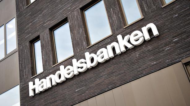 Handelsbankens danske afdeling taber toplinje - men overskuddet øges