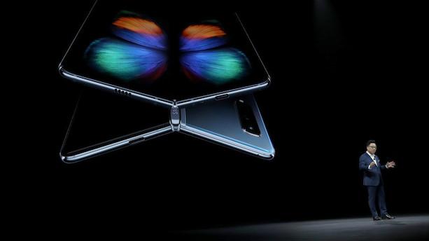Samsung lancerer ny sammenfoldelig smartphone
