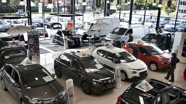 Biler var to uger fra skattesmæk: Nu er det udskudt til 2021