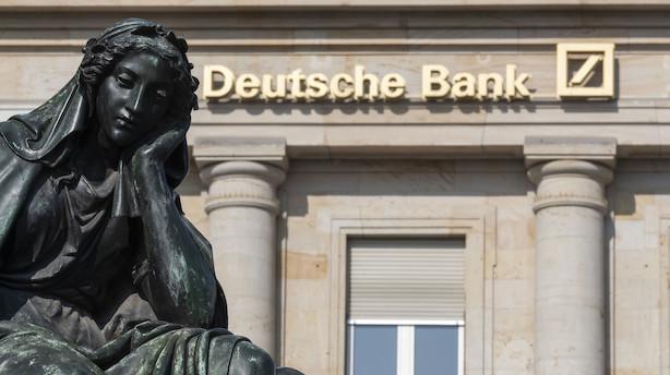 Det sker i dag: Deutsche Bank kommer med regnskab efter mislykket fusion