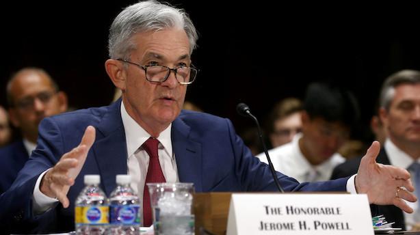 Det sker i dag: Rentemelding fra Fed