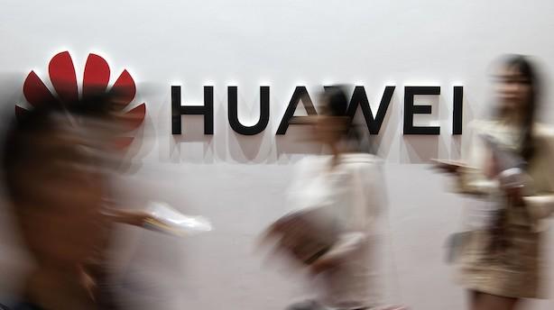 Medie: Huawei anklages for afpresning og tyveri af ophavsret