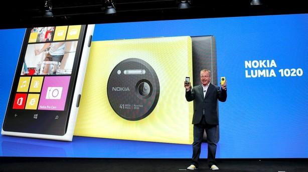Nokias omsætning storskuffer i andet kvartal